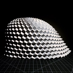 (mike.tanis) Tags: art architecture design origami dome kirigami pavilion cubes