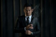 G (L S G) Tags: lighting fashion studio nikon background smoke curtain philippines class suit lowkey barndoor cto strobist d810 octobox