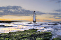Guardian (Paul's Picx) Tags: sunset sea lighthouse seascape liverpool river rocks waves tide mersey wirral newbrighton merseyside irishsea liverpoolbay