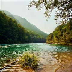 Drina river (Katarina 2353) Tags: summer mountain film river landscape nikon europe balkan bosna katarinastefanovic katarina2353