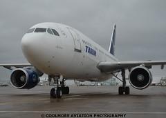 2014_10_22_GLA0003 (COOLMORE PHOTOGRAPHY) Tags: airport glasgow airbus 310 gla a310 glasgowairport tarom egpf yrlcb a3103 airbusa3103