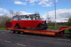 IMGP0078 (Steve Guess) Tags: uk england bus museum cub surrey gb cobham trailer weybridge leyland brooklands byfleet
