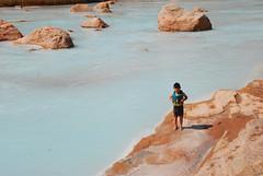 Taka Swimming in Little Colorado (riversandcreeks) Tags: grandcanyon coloradoriver grandcanyonnationalpark kidsoutdoors