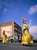 Dressed to Kill (Siobhán Bermingham) Tags: blue ireland girls sky dublin irish st yellow festival march day festivals parade sword patricks stpatricksday stpatricksfestival 2016