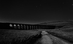 Midnight viaduct (images@twiston) Tags: park longexposure sky blackandwhite bw monochrome grass silhouette stone architecture night dark stars landscape mono lowlight arch nightshot farm yorkshire main silhouettes railway arches farmland illuminated line viaduct moonlit nighttime national nightime midnight fields moonlight after 24 nightsky jericho moor carlisle sebastopol silhouetted northyorkshire midland dales afterdark moorland settle 3peaks 1875 ribbleheadviaduct ribblehead whernside scheduledancientmonument belgravia ribblesdale deadofnight settlecarlisle yorkshiredalesnationalpark yorkshire3peaks battymoss battywifehole midnightviaduct