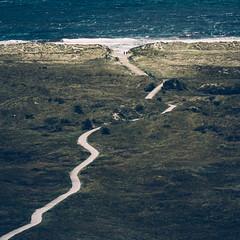 The shell path (Jannes Glas.) Tags: sea people walking wadden path shell noordzee ameland hollum