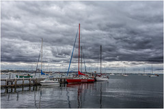 A bit of Motivation (RissaJT_23) Tags: storm water clouds canon boats pier boat sailing harbour yacht mooring geelong youyangs geelongwaterfront coriobay canon1740mm canon6d cityofgreatergeelong canoneos6d