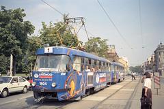 1998-07-22 Brno Tramway Nr.1604 (beranekp) Tags: czech tram brno t3 tramway strassenbahn tramvaj tranvia 1604 brünn električka elektrika šalina