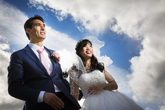 Wedding (siebe ) Tags: wedding sky people holland netherlands dutch photography groom bride couple nederland marriage weddingday trouwen bruiloft trouwdag 2016 bruidspaar bruid bruidsreportage trouwreportage bruidsfotografie