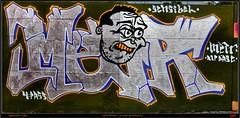 Artist: Unknown (pharoahsax) Tags: world street urban bw streetart get art colors wall writing germany painting deutschland graffiti artwork mural paint artist kunst tag tags spray peinture urbanart painter writer graff baden karlsruhe ka legal spraycan wrttemberg sden pmbvw worldgetcolors