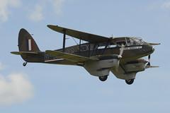 de Havilland DH-89A Dragon Rapide - G-AGJG (1941) (johnironside65) Tags: dragon duxford dehavilland rapide dominie dh89a gagjg