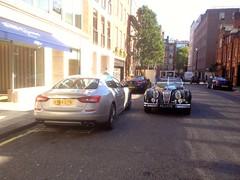 Jaguar XK140 Roadster (mangopulp2008) Tags: london classics jaguar jd mayfair roadster xk140