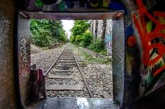 Petite ceinture 7 (charles.enchine) Tags: street urban streetart paris tag railway tunnel urbanexploration urbanjungle exploration urbex abbandonned