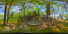 ozark lions (severalsnakes) Tags: vacation sculpture house lake stairs concrete us unitedstates outdoor lion 360 step missouri mold lakeoftheozarks ricoh ozark spherical degrees theta camdenton thetas theta360 saraspaedy