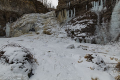 Stopped by the Cold (awaketoadream) Tags: winter snow cold ice town frozen waterfall january niagara falls lincoln region escarpment rockway