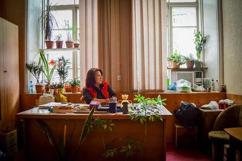 Gulnora Akhmedova, deputy director of the Mayakovsky Theater