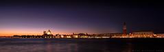 Venedig Sonnenuntergang (Heiko Fichtner) Tags: italien venice panorama skyline sonnenuntergang sundown venezia venedig heiko fichtner