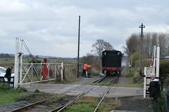 P4160104 (Steve Guess) Tags: uk england usa train kent crossing tank railway loco steam level gb locomotive eastsussex 30065 060t