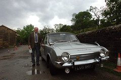 DSC_2208 Grosmont Railway Station Yorkshire 1967 Ford Corsair 2000E LUO94F with Geoff Spafford (photographer695) Tags: ford station with geoff yorkshire railway 1967 corsair spafford grosmont 2000e luo94f
