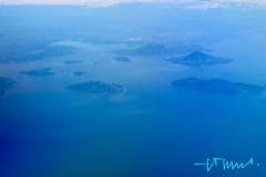 Aerial View of Fonseca Gulf with Islands and volcanoes, El Salvador (ssspnnn) Tags: ocean mer volcano islands mar honduras nicaragua elsalvador launion islas montanhas golfo frontiers oceano nunes fonseca vulces fronteiras golfodefonseca canoneos70d spereiranunes snunes spnunes fonsecagulf