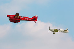 Shuttleworth Uncovered Airshow 2015 (Andrew-M-Whitman) Tags: de gull comet percival mew havilland dh88 gacss gaexf