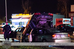 Detroit Fire - MVC, Halloween 2015, W. Outer Dr. & S. Fort St. (Front Page Photography / Hooks & Halligans) Tags: halloween fire detroit vehicle motor department dept collision motorvehicleaccident 2015 mvc accidentcrash motorvehiclecollision halloween2015