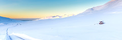 Hvammur  Fljtum (piparinn) Tags: winter landscape iceland sland vetur skagafjrur landslag heidar fljtin hvammur piparinn
