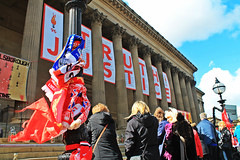 Truth and Justice (thecrookedfoo) Tags: home liverpool justice truth efc hillsborough 96 lfc stgeorgeshall jft96