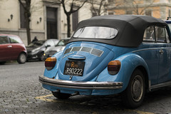 The blue car (arinue_9) Tags: street italy rome roma car outside 50mm nikon italia details bluecar d5300