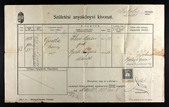 33162_620303988_0182-00375 (mkvirg) Tags: hungary passport immigration ellisisland magyarorszg emigration hungarians hungarycivilregistration llamianyaknyvek kereszteltekanyaknyve magyartlevl hzasultakanyaknyve