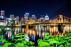 North Shore-1 (Sirkoch) Tags: water pittsburgh cityscape nightshot pitt