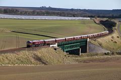 Belmond Royal Scotsman 66746 on 1H79 at Inverkeilor (60044) Tags: classic train coast scotland edinburgh tour main royal railway keith trains 66 class line east network railways scotsman ecml inverkeilor 66746 1h79 besmond