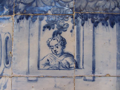 Azulejo tiles, Salvador Bahia (thomas alan) Tags: azulejo salvadorbahia igrejadesofrancisco