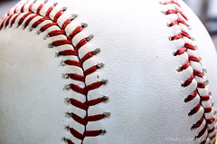 Curves (Holly Calinsky Jauch) Tags: sports closeup america baseball american stitching tradition marcro pastime rawlings