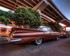 1959 chevrolet impala (pixel fixel) Tags: chevrolet sandiego salmon impala 1959 chicanopark lostinthe50s lonuestro