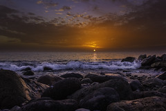 (xsalto) Tags: sunset sea grancanaria spain espagne coucherdesoleil