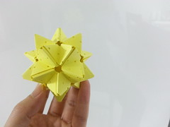 Wish (hyunrang) Tags: stellated icosahedron hur paperstrip