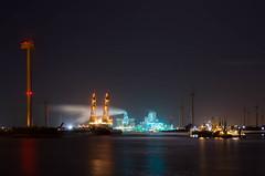 Eemshaven (Oetmeij_hobbyfotografie) Tags: rwe eemshaven avondfotografie saipem