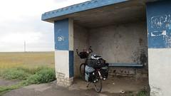 Wolga-Radtour, Teil 3: Gewitter in der Steppe zwischen Nikoajewsk und Wolschski