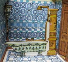 The Bathroom (italiantime) Tags: victorianhouse paperdolls