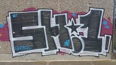 Shake... (colourourcity) Tags: streetart graffiti tsf awesome melbourne shaker shake sh1 throwies melbournegraffiti melbournestreetart shake1 burncity colourourcity colourourcitymelburn colourourcitymelbourne