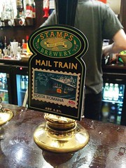 Stamps Mail Train (DarloRich2009) Tags: beer stamps ale brewery bitter camra realale mailtrain campaignforrealale handpull stampsmailtrain stampsbrewery