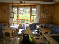 rustic room (Riex) Tags: wood comfortable restaurant hotel schweiz switzerland cozy suisse furniture rustic diningroom tables svizzera sonne bois a100 meubles engadine amount graubnden rustique grisons salleamanger graubunden valfex sal1680z minoltaamount carlzeisssonyf35451680mm fexcrasta variosonnartdt35451680