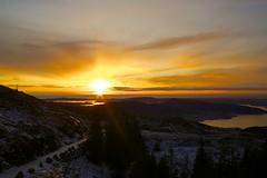 Winter sun (eirikj) Tags: winter sun mountain norway canon bergen g1x