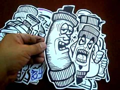 wizards stickers (Wizards_Stickers) Tags: graffiti stickers labels usps slaps collabs cholowiz nazer26