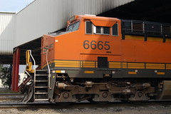 BNSF 6665. (Mexican Rails Productions.) Tags: ge bnsf gevo es44 es44c4