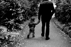 Father and son (marina bisogno) Tags: people blackandwhite persone biancoenero