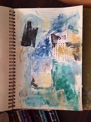 In Progress (VinnyStrawberry :Art) Tags: mixedmedia workinprogress wip visualjournal artjournal