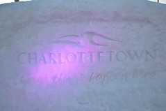 City of Charlottetown snow wall pb (Patricia Bourque Photographer) Tags: events pei snowfestival jackfrost jackfrost2016