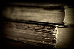 Never Judge a Book by it's.... (The Noodle!) Tags: old stilllife book pages books tattered